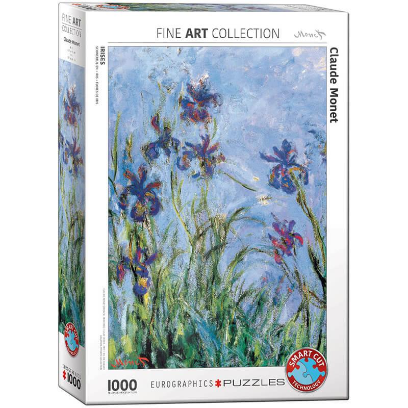 Eurographics Claude Monet Irises (Detail) 1000-Piece Puzzle - ODDO igračke
