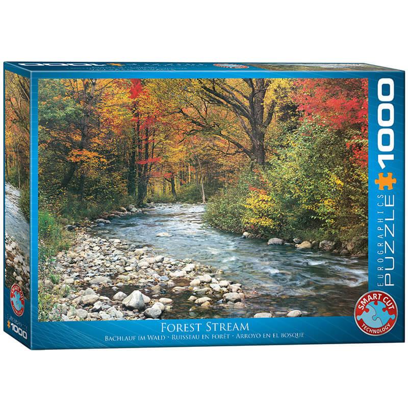 Eurographics Forest Stream 1000-Piece Puzzle - ODDO igračke