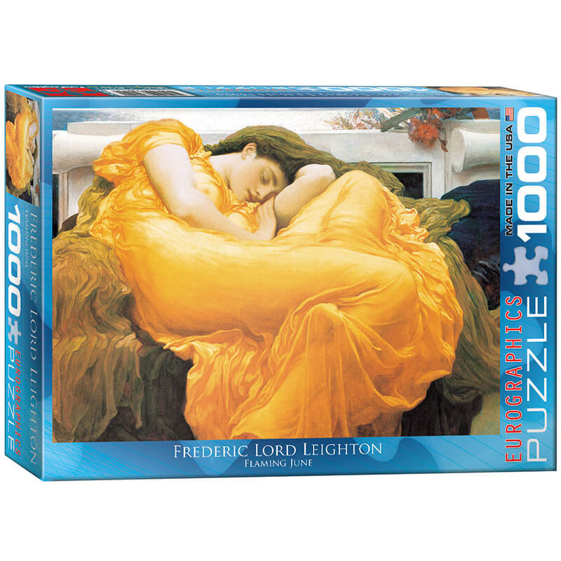 Eurographics Frederic Lord Leighton Flaming June 1000-Piece Puzzle - ODDO igračke