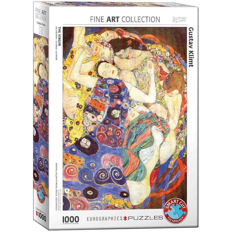 Eurographics Gustav Klimt The Virgin 1000-Piece Puzzle - ODDO igračke