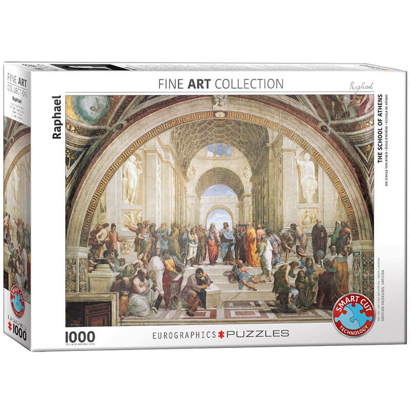 Eurographics Raphael School of Atens 1000-Piece Puzzle - ODDO igračke
