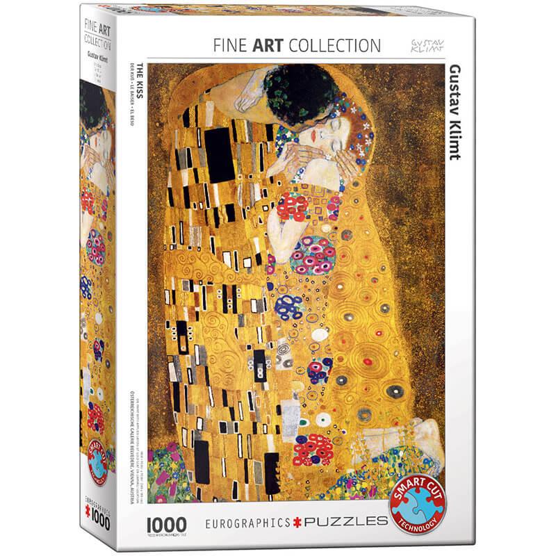 Eurographics Gustav Klimt The Kiss 1000-Piece Puzzle - ODDO igračke