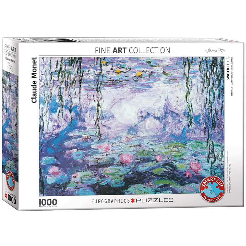 Eurographics Claude Monet Waterlilies 1000-Piece Puzzle 6000-4366 - ODDO igračke