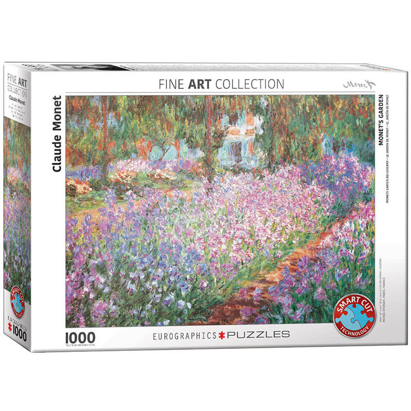 Eurographics Claude Monet Monet Garden 1000-Piece Puzzle - ODDO igračke