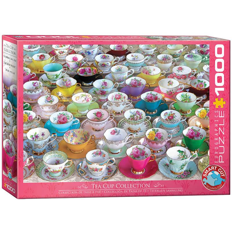 Eurographics Tea Cup Collection 1000-Piece Puzzle - ODDO igračke
