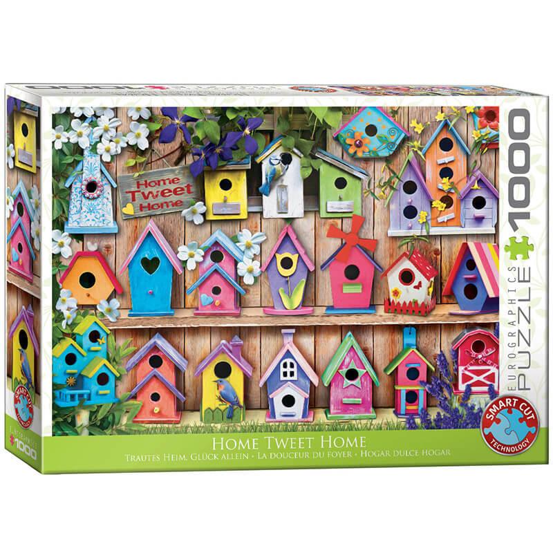 Eurographics Home Sweet Home 1000-Piece Puzzle - ODDO igračke