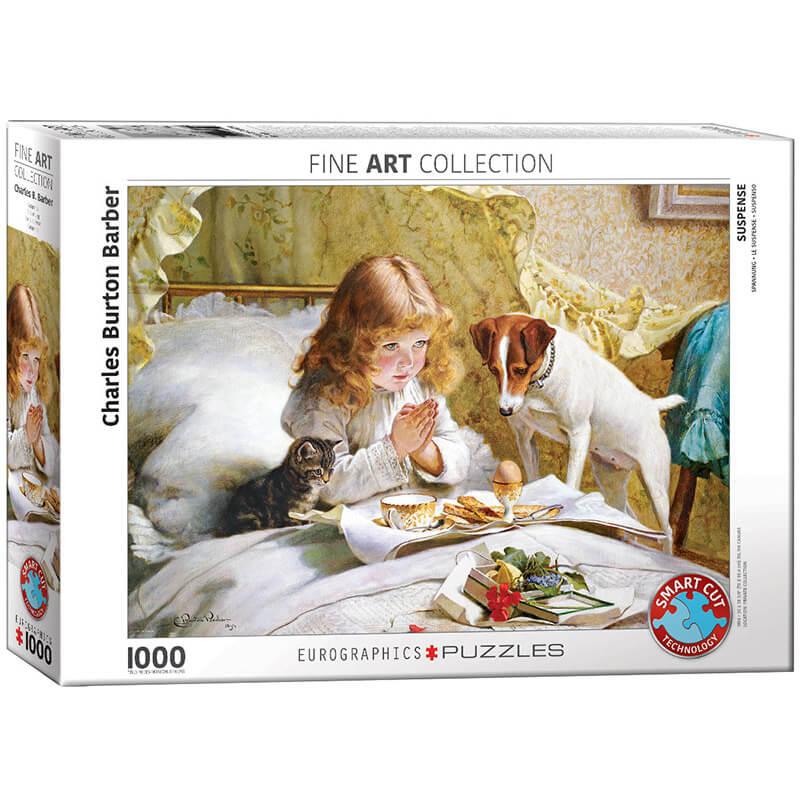 Eurographics Charles Burton Barber Suspense 1000-Pieces Puzzle 5329 - ODDO igračke