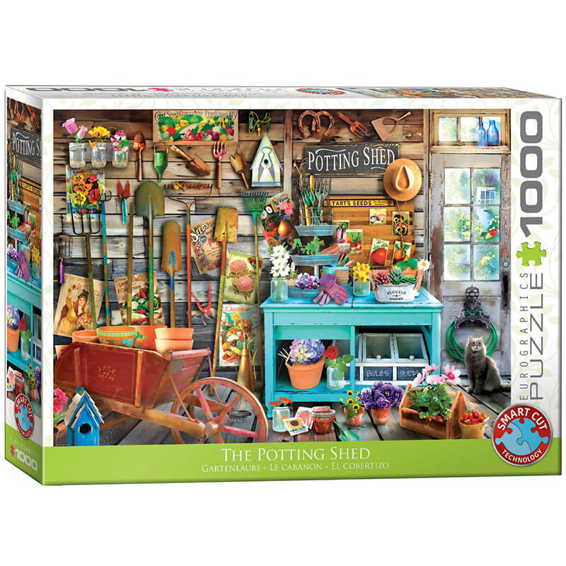 Eurographics The Potting Shed 1000-Piece Puzzle - ODDO igračke