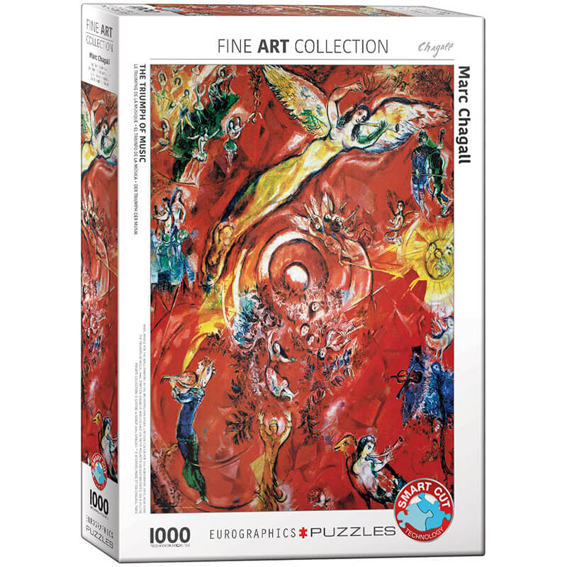 Eurographics Marc Chagall The Triumph of Music 1000-Piece Puzzle - ODDO igračke