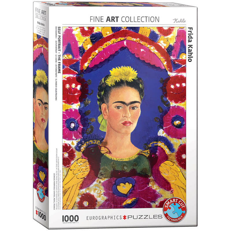 Eurographics Frida Kahlo Portrait 1000-Piece Puzzle - ODDO igračke