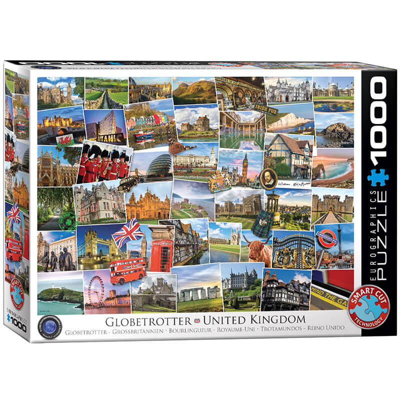 Eurographics Globetrotter United Kingdom 1000-Pieces Puzzle 5464 - ODDO igračke