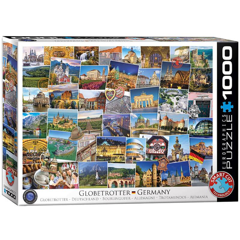 Eurographics Globetrotter Germany 1000-Pieces Puzzle 5465 - ODDO igračke