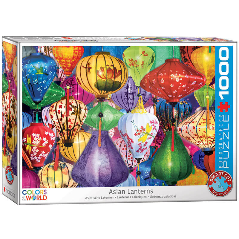 Eurographics Asian Lanterns 1000-Piece Puzzle - ODDO igračke