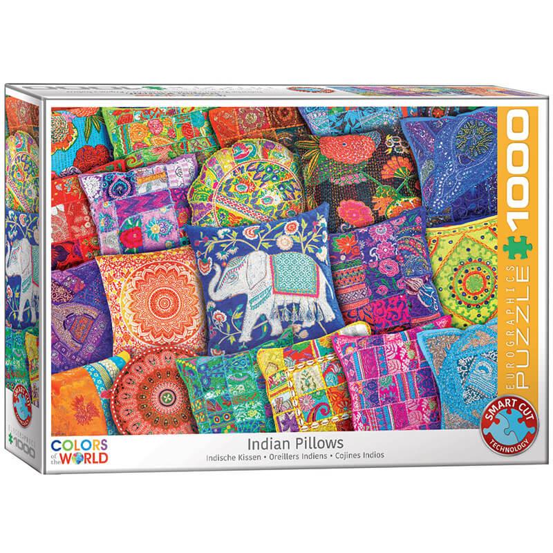 Eurographics Indian Pillows 1000-PiecePuzzle - ODDO igračke