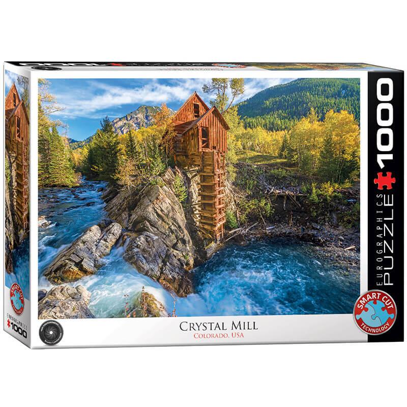 Eurographics Crystal Mill 1000-Piece Puzzle - ODDO igračke