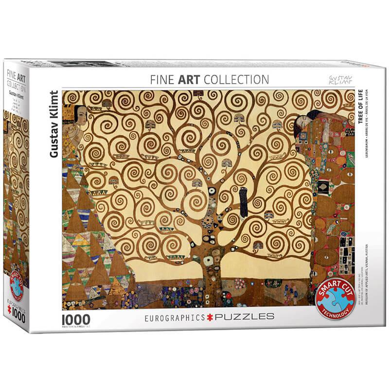 Eurographics Gustav Klimt Tree of Life 1000-Piece Puzzle - ODDO igračke