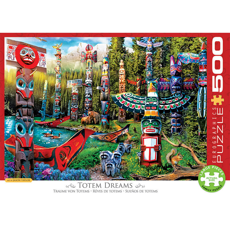 Eurographics Totem Dreams 500-Pieces Puzzle 5361 - ODDO igračke