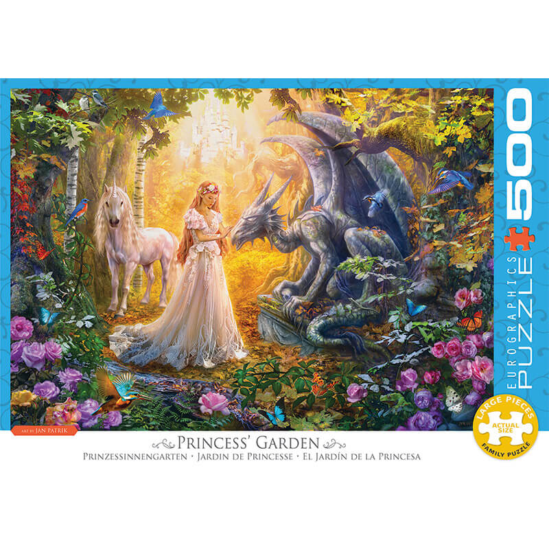Eurographics Princess Garden 500-Pieces Puzzle 5458 - ODDO igračke