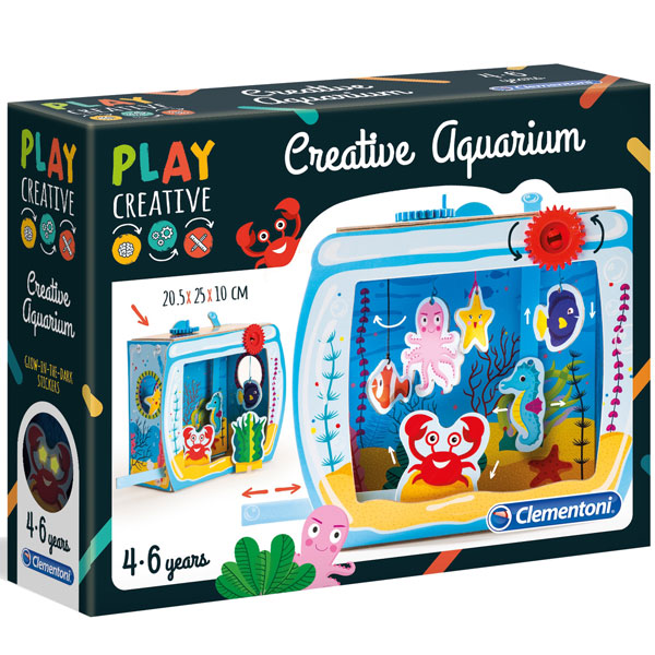 Play Creative Akvarijum set Clementoni CL15272 - ODDO igračke