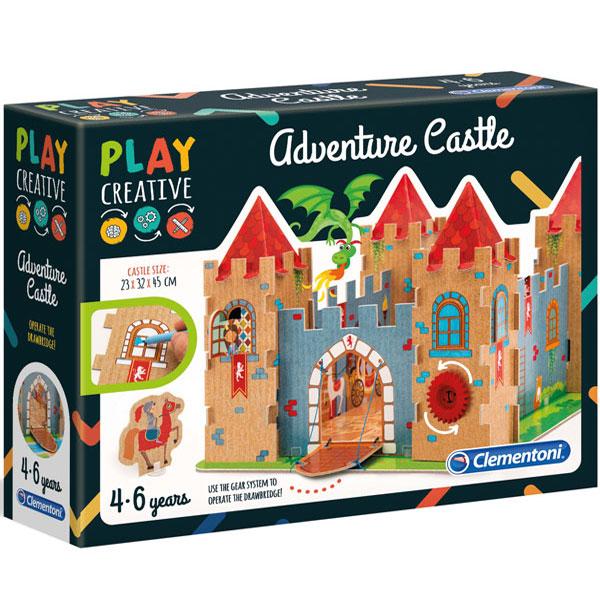 Play Creative Dvorac set Clementoni CL15273 - ODDO igračke