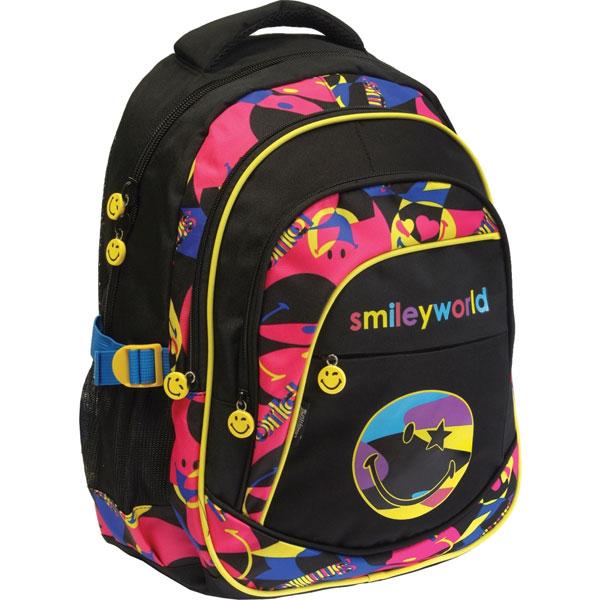 Đački školski ranac Round Smile World 51805 - ODDO igračke