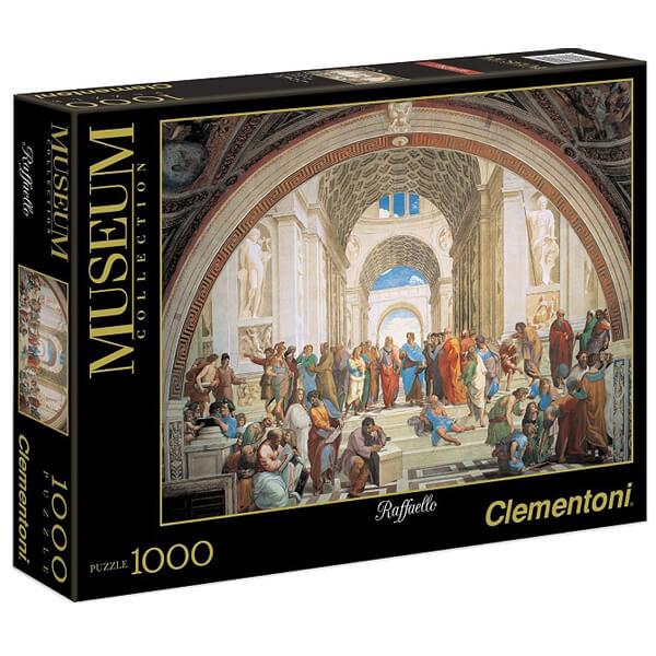 Clementoni Slagalica 1000pcs museum School of Athens by Raffaello 31404 - ODDO igračke