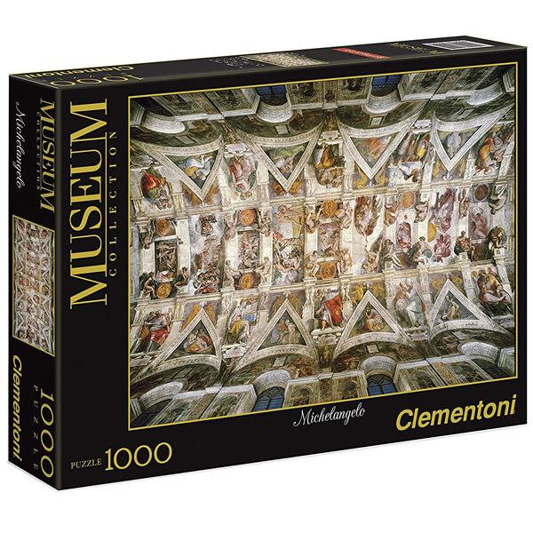 Clementoni Slagalica 1000pcs museum The Sistene Chapel by Michelangelo 39225 - ODDO igračke