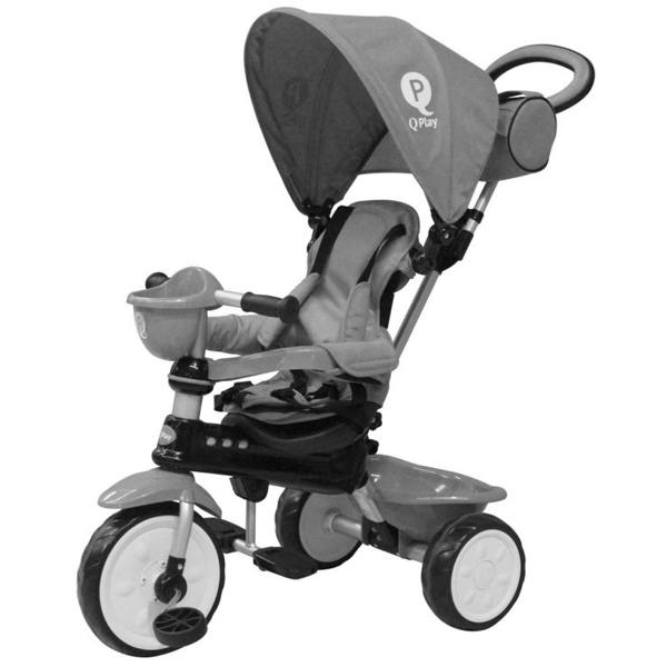 Tricikl Comfort sivi 34/4693 - ODDO igračke