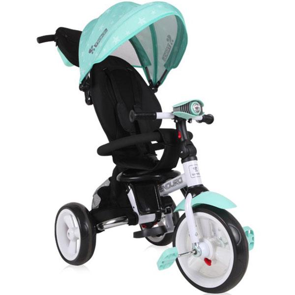 Tricikl sa rotirajućim sedištem Enduro Green Stars Bertoni 10050410010 - ODDO igračke