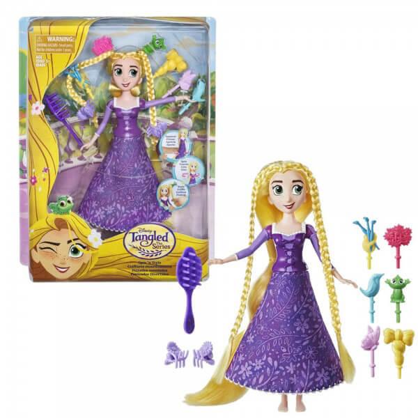 Disney Lutka Princess Zlatokosa Spin and Style C1748 - ODDO igračke