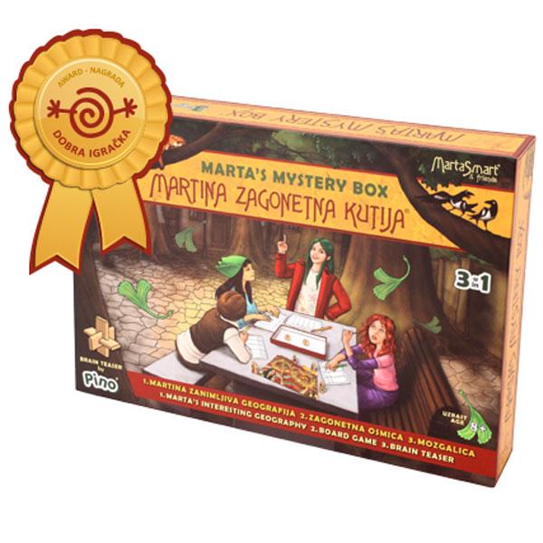 Martina zagonetna kutija Društvena igra 8538 - ODDO igračke