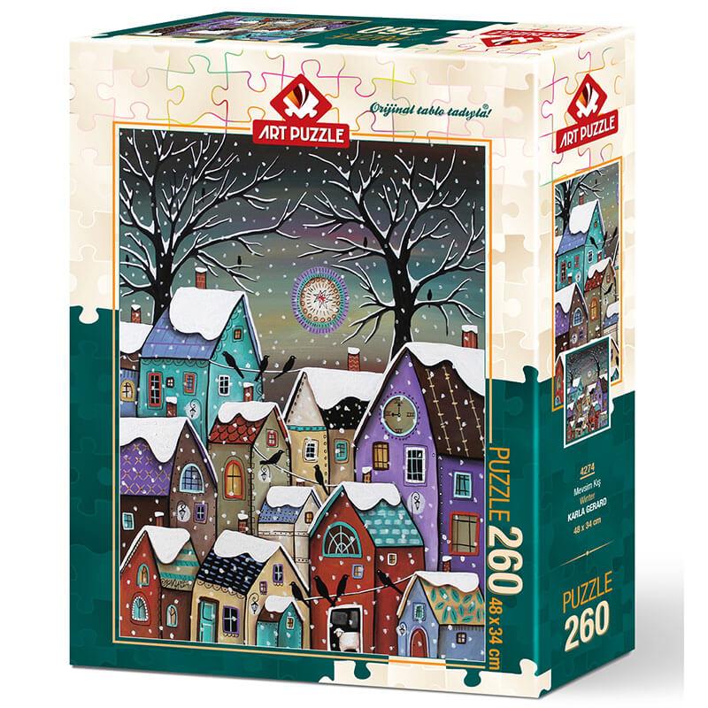Art puzzle Winter - KARLA GERARD 260 pcs - ODDO igračke