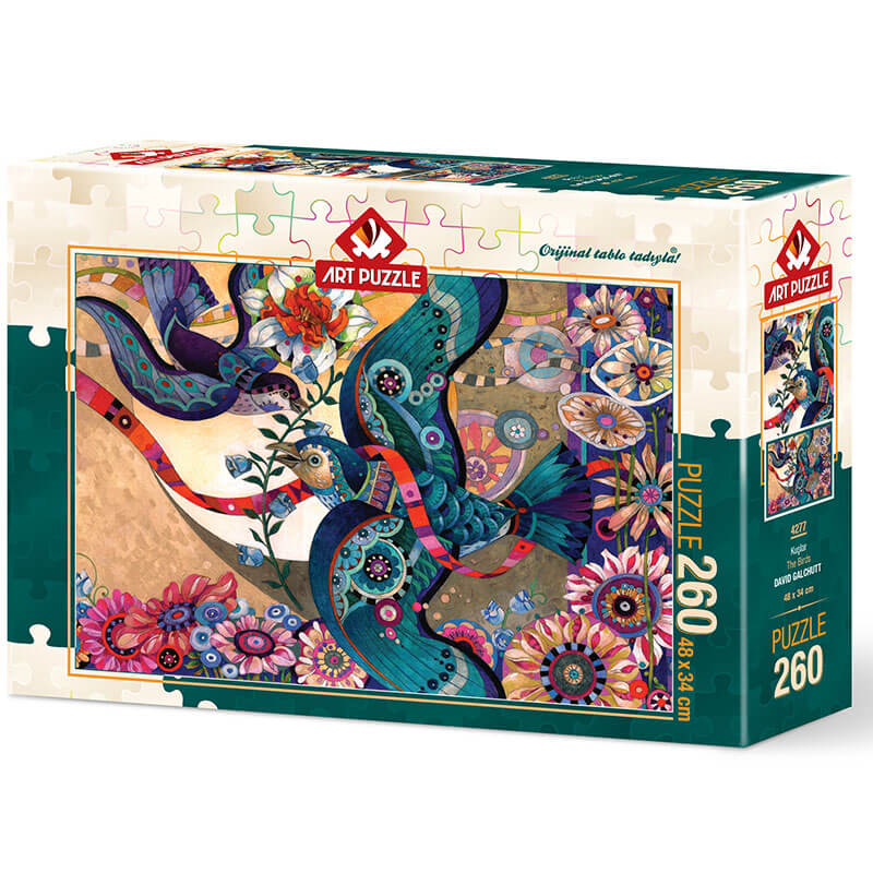 Art puzzle The Birds - DAVID GALCHUTT  260 pcs - ODDO igračke