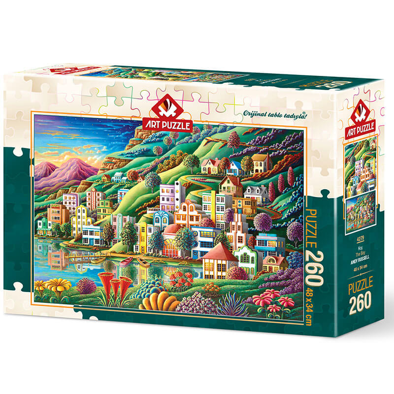 Art puzzle The Bay - ANDY RUSSELL 260 pcs - ODDO igračke