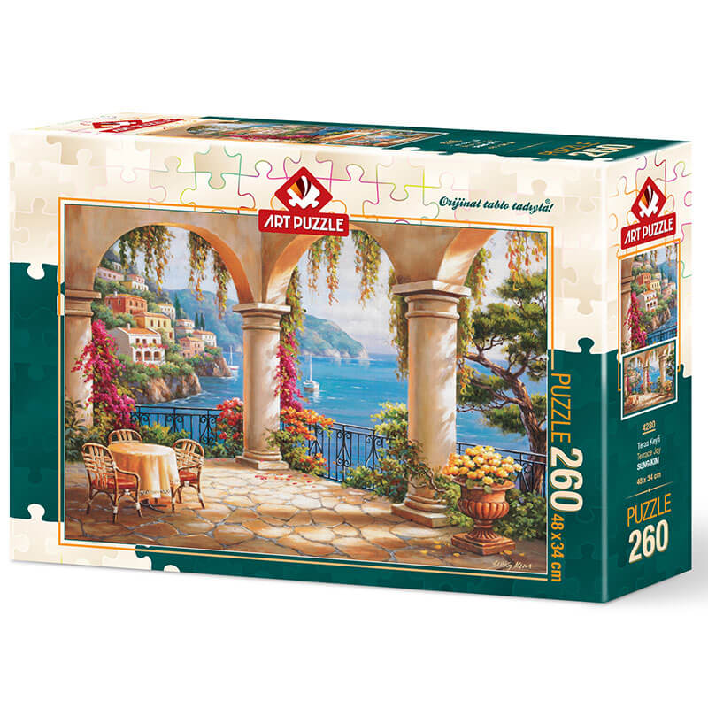 Art puzzle Terrace Joy - SUNG KIM 260 pcs - ODDO igračke