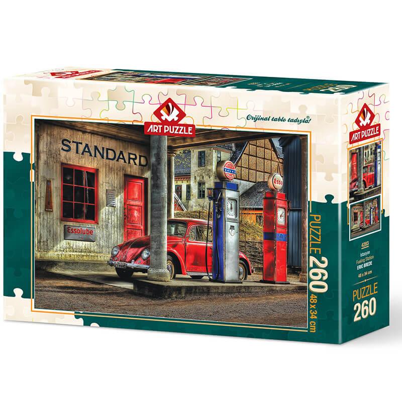 Art puzzle Fueling Station - ERIC BREDE 260 pcs - ODDO igračke