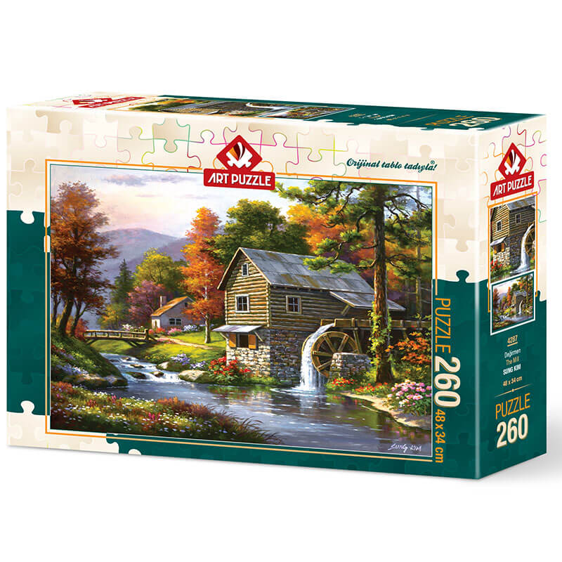 Art puzzle The Mill - SUNG KIM 260 pcs - ODDO igračke