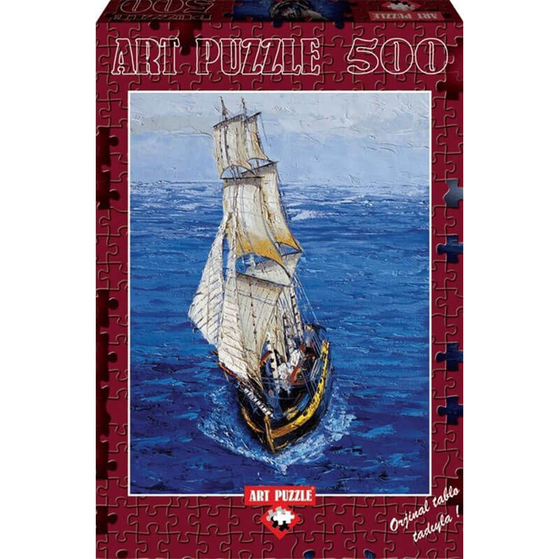 Art puzzle SAILING BOAT 500 pcs 4154 - ODDO igračke