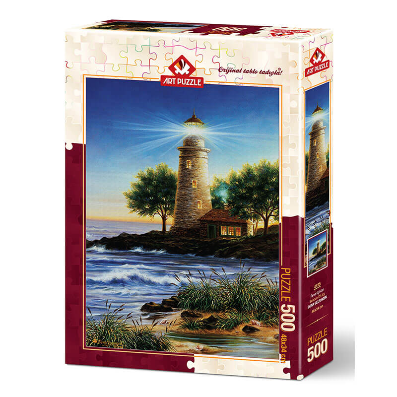 Art puzzle BEACON OF JOY 500 pcs - ODDO igračke