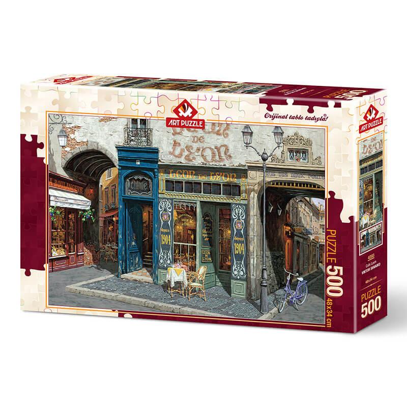 Art puzzle CAFE LEON 500 pcs - ODDO igračke