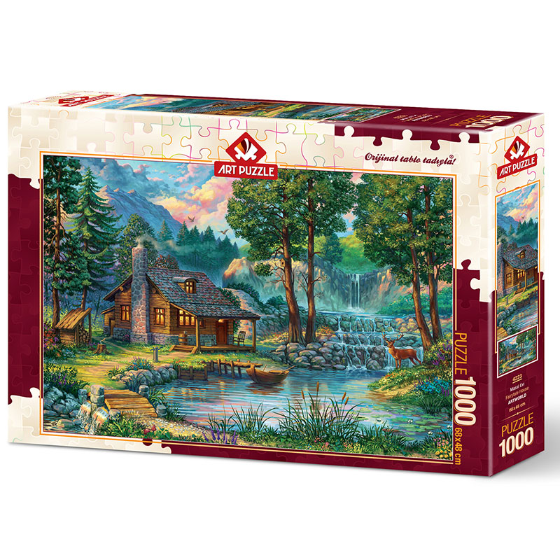 Art puzzle Fairytale House 1000 pcs - ODDO igračke