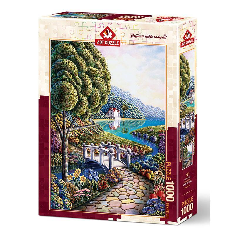 Art puzzle FLOWER BAY 1000 pcs - ODDO igračke