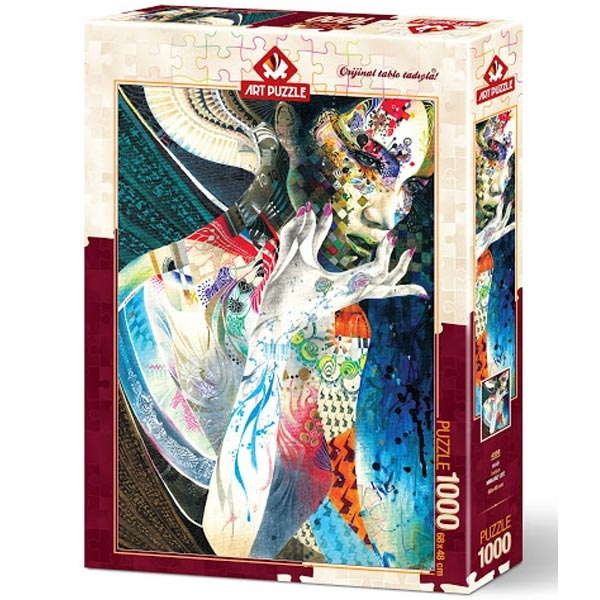 Art puzzle INDIAN 1000 pcs - ODDO igračke