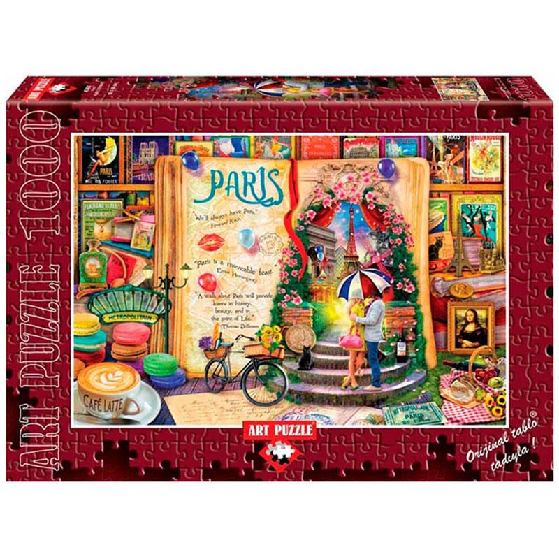 Art puzzle PARIS 1000 pcs - ODDO igračke