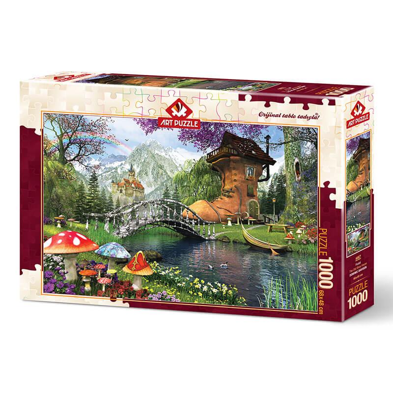 Art puzzle THE OLD SHOE HOUSE 1000 pcs - ODDO igračke
