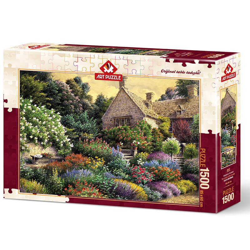 Art puzzle THE COLORS OF MY GARDEN 1500 pcs - ODDO igračke