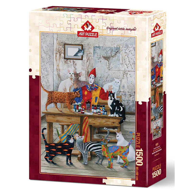 Art puzzle MY COLORFUL WORLD 1500 pcs  - ODDO igračke
