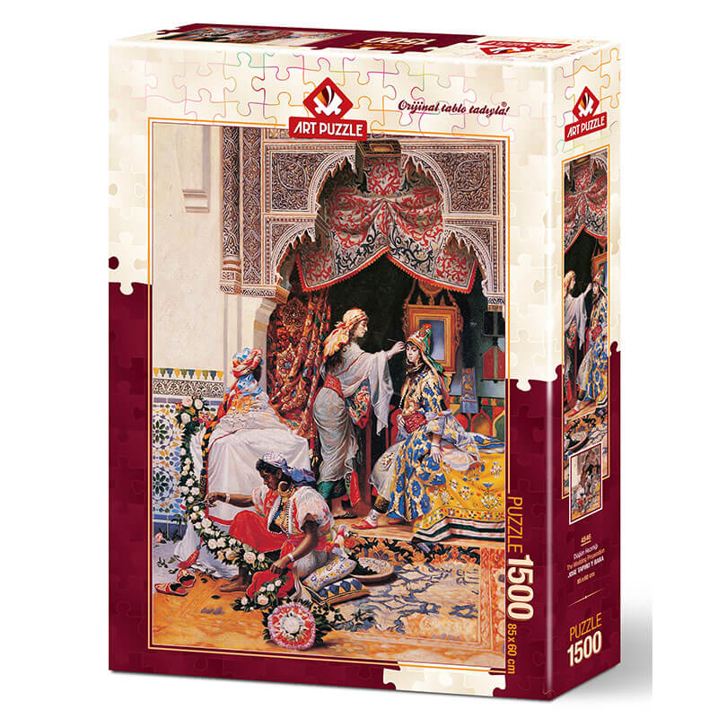Art puzzle THE WEDDING PREPARATION 1500 pcs - ODDO igračke