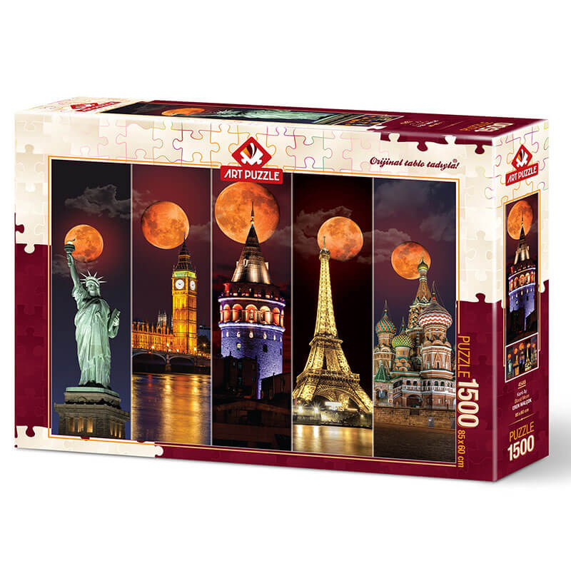 Art puzzle BLOOD MOON 1500 pcs - ODDO igračke