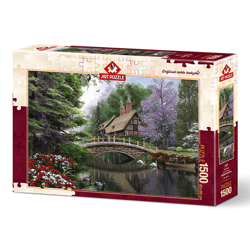 Art puzzle STONE BRIDGE 1500 pcs - ODDO igračke